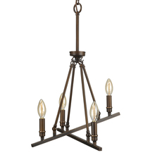 Golden 2360-4 RBZ - 4 Light Chandelier